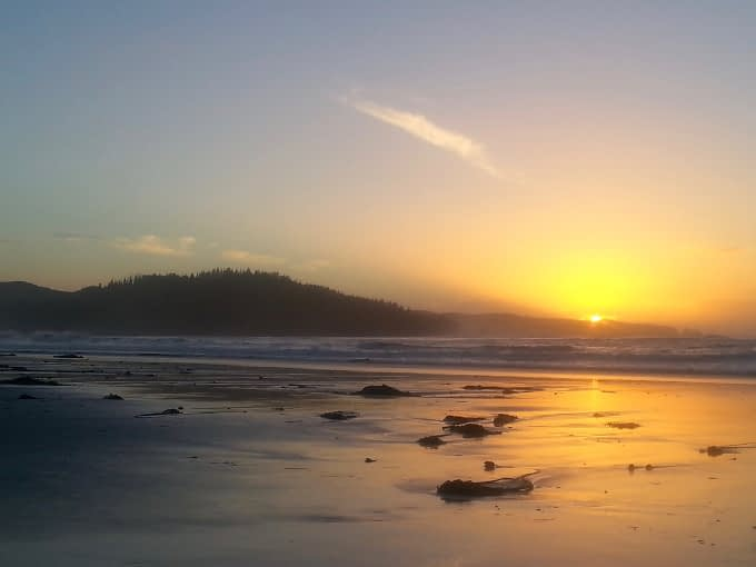Sunset on Nels Bight