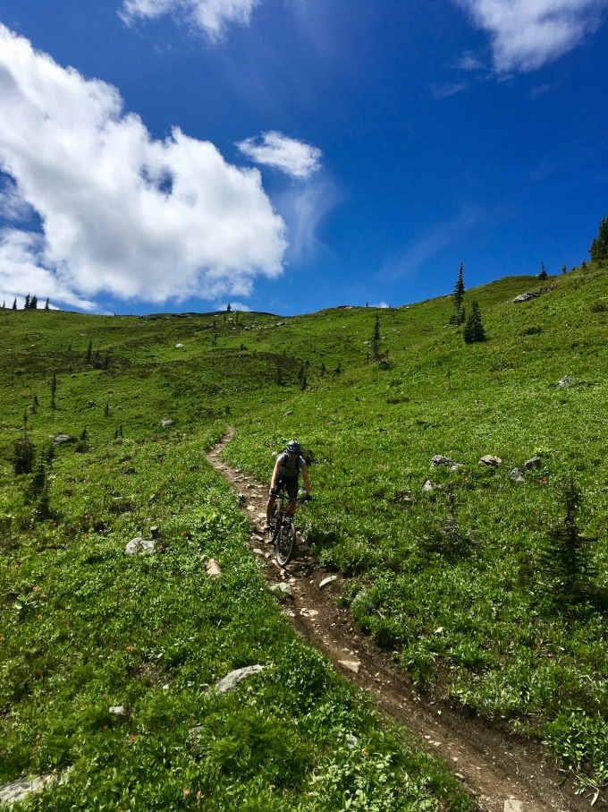 Gliding along the Keystone trail